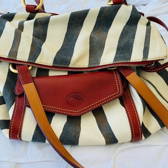 Dooney & Bourke Handbags - Dooney & Bourke Vintage Zebra Satchel